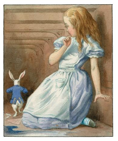 Alice-and-White-Rabbit-hallway